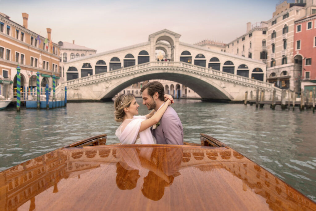 Fotografie matrimonio a Venezia di Emily & Ruben
